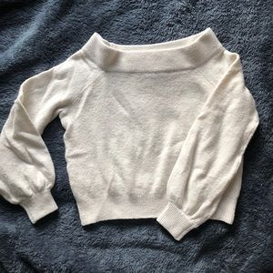 H&M off shoulder sweater
